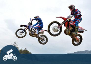 オフロードバイク・オンロードバイク・モトクロス