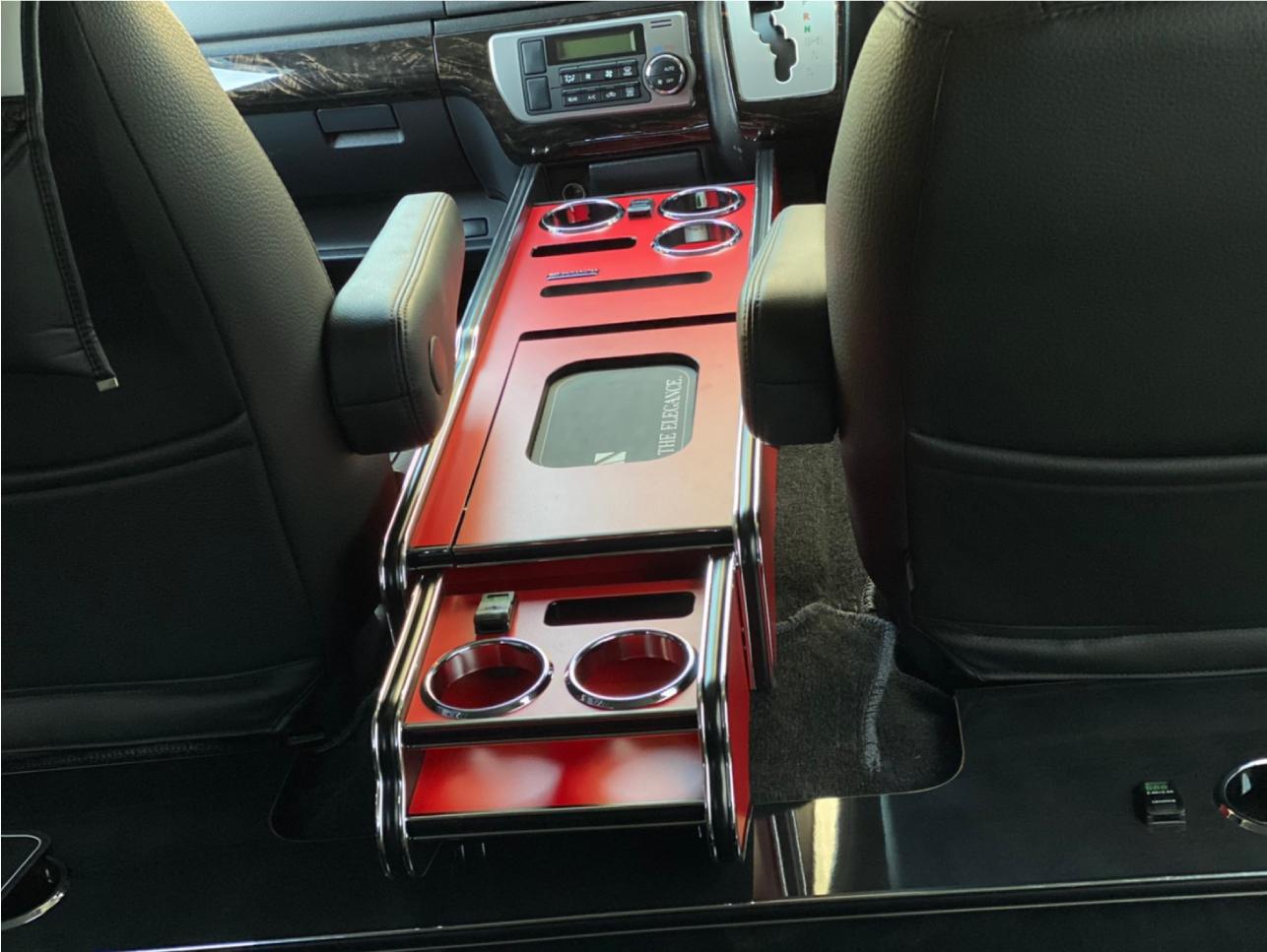 Interior CupHolder 200系ハイエース レガンス インテリアセンターコンソールボックス